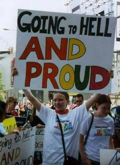 The Pride Of Going To Hell For SexualSins